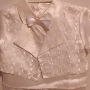 Matching Sets - Baby satin suit